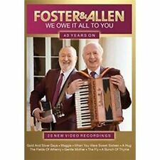 Foster & Allen We Owe It All To You 40 Years On DVD New/2016/music/sealed/video