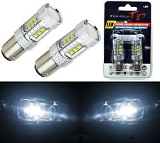 LED Light 80W 1157 White 5000K Two Bulbs Stop Brake Replacement Upgrade Lamp OE