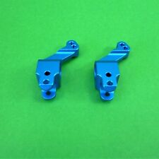 Blue alloy rear hubs for Colt 1:10 RC cars & truck suits many models