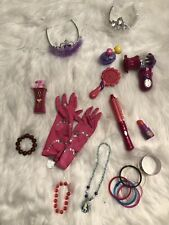 Girls Dress Up Accessory Lot-Jewelry,Make-up,Curl Iron, Blow Dryer & More