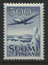 Finland 300 mk Airmail mint o.g. hinged Scott #C4