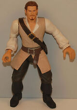 "ZIZZLE PIRATES OF THE CARIBBEAN AT WORLD'S END 6.5"" WILL TURNER FIGURE FREE SHIP"