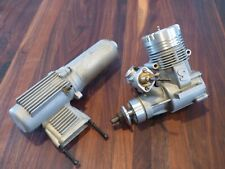 Vintage Super Tigre S40 ABC R/C Glow Engine w/ Muffler for Model Airplanes .40