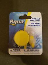 Aqua Sport Nose Clip & Ear Plugs Set