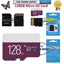 128GB Micro SD Memory TF Card CLASS 10 SDHC SDXC for mobiles laps tablet camera