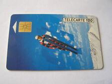 telecarte saut à ski 120u ref phonecote F174A