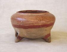 Pre-Columbian Pottery Tripod Bowl - South American, ca. 400 - 700 Bc