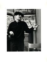 Marthe Prevot: Entracte, Portrait Raoul Hausmann (A5). 1967. O.-Fotografie.