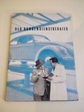 Der Kundendienstberater - Volkswagenwerk 1953 - Volkswagen - 100 Seiten - selten