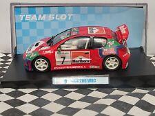 "Team Slot Peugeot 206 WRC ""Ponce' #7 11005 1:32 nuevo viejo Stock En Caja"