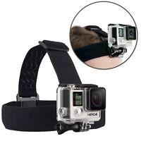 Elastic Adjustable Headband Head Strap Helmet Harness f Gopro Hero + Housing