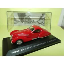 TALBOT LAGO SS FAUX CABRIOLET FIGONI & FALASCHI 1938 Rouge ALTAYA 1:43