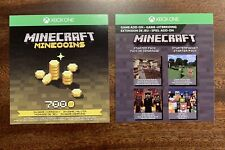 Minecraft Starter Pack & 700 Minecoins DLC Code (kein Spiel) [Xbox One]