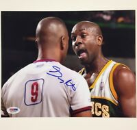 GARY PAYTON autograph signed SuperSonics 8x10 Photo ~PSA/DNA COA~ Seattle Sonics