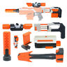 Tactical Scope Sight Attachment Shoulder Stock ABS Plastic for Nerf Blaster Toy