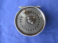Vintage J W Young & Sons Beaudex Salmon Trout Fly Fishing Reel. (3.25 Diameter)