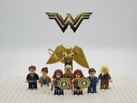 Wonder Woman NEW Movie 8 Minifigures Set Custom Lot - USA SELLER