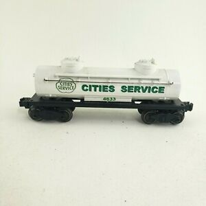 Cities Service Two Dome Tank Car 4633, O Scale