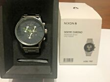MENS NIXON THE SENTRY CHRONOGRAPH WATCH - A386-1981 - £270 RRP - DISCONTINUED!!!