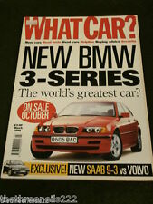 WHAT CAR? - NEW BMW 3 SERIES - MARCH 1998