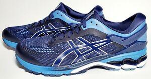 Asics Men's Midnight/Grey Floss Gel-Kayano 26 Running Sneaker Shoes Sz 10 & 12