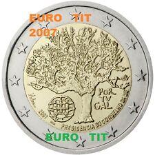 2  EURO PORTUGAL  1  PIECE  X  NEUVE  PRESIDENCE DE L'EUROPE    2007  disponible