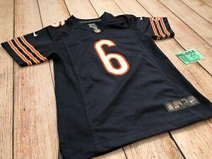 Nike ON FIELD JAY CUTLER  Chicago Bears #6 Football Jersey NFL YOUTH Boy Medium