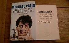 Halfway to Hollywood Diaries 1980 to 1988 SIGNED Michael Palin HB 2009 1st/1st