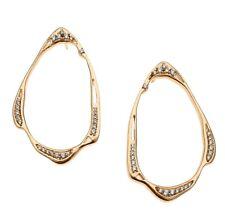 Kendra Scott Livi Frontal Hoop Rose Gold Earrings 0435