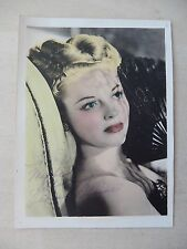 "Vivian Blaine Autographed 5"" X 7"" Photograph from Estate"