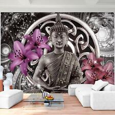 Vlies Fototapete Buddha Tapete Wandbilder XXL - 3D Effekt Wohnzimmer