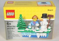 LEGO 853663 Iconic Snowman Holiday Magnet 45pcs New