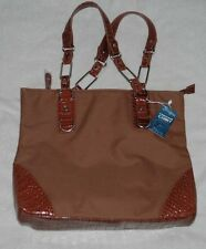 SWEETGRASS New With Tags Conceal and Carry Brown Handbag with 6 Compartments