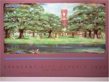 1992 CRESCENT CITY CLASSIC POSTER BY TORE WALLICE