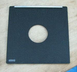 genuine Toyo field 5x4 45A copal & compur 0 fit  lens board 110mm square 34.7mm