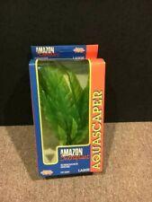 """New listing Vintage- Living World Aquascaper Amazon Aquarium Plant Pp-2260-12""""tall.Free Ship"""