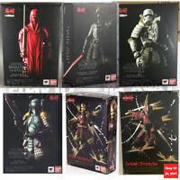 "Star Wars Movie Realization 7"" Action Figure Japanese Samurai Toy NIB"