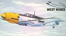 Messerchmitt Me109E West Wings Balsa Wood Model Rubber Powered Plane Kit WW5W502