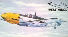 Messerchmitt Me109E West Wings Balsa Wood Model Rubber Powered Plane Kit WW5W502