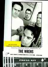 the wrens limited edition press kit