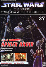 Star Wars Vehicles Collectors Mag #37 Homing Spider Droid MINT