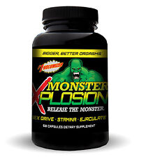 MALE ENHANCEMENT MONSTER XPLOSION EJACULOID EJACULATON SEX DRIVE