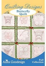 Anita Goodesign Butterfly Quilt Embroidery Machine Design CD NEW 117AGHD