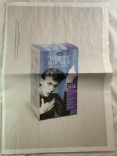 2016 Oversized David Bowie Special Poster Edition Uk Beat Magazine Death Tribute