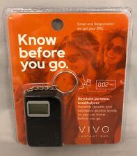 Brand New! Vivo Instant Breathalyzer Keychain *Battery Included*