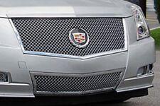 """2008-2013 Cadillac CTS """"E Series"""" 2pc Heavy Mesh Grille - E&G 1007-0104-08E"""