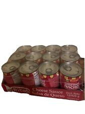 (12) Rico's Gourmet Nacho Cheddar Cheese Sauce 15 Oz Cans  Full Case Of 12 Cans