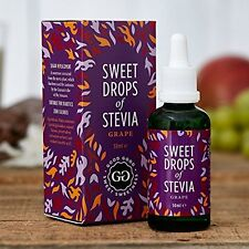 Stevia Sweetener Drops from Iceland(50ml) - Grape! Sugar Free and All Natural US