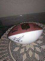 AUTOGRAPH SIGNED MINI WILSON NFL BALL #45 UNKNOWN SIGNATURE