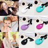 Baby Newborn Silicone Teardrop Pendant Teething Necklace Teether Chewing BPAFree